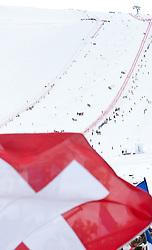 23.10.2010, Rettenbachferner, Soelden, AUT, FIS World Cup Ski Alpin, Lady, 2nd run, im Bild Feature mit schweizer Flagge, schweizer Nationalflagge, EXPA Pictures © 2010, PhotoCredit: EXPA/ J. Groder
