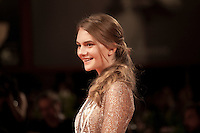 Emilia Jones at the premiere of the film Brimstone at the 73rd Venice Film Festival, Sala Grande on Saturday September 3rd 2016, Venice Lido, Italy.