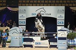 Nagel Carsten Otto, (GER), Holiday by Solitour<br /> DKB-Riders Tour<br /> Grand Prix Kreditbank Jumping München 2015<br /> © Hippo Foto - Stefan Lafrentz