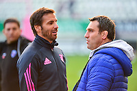 Gonzalo QUESADA / Fabrice LANDREAU - 14.03.2015 - Stade Francais / Grenoble -  20eme journee de Top 14<br /> Photo : David Winter  / Icon Sport<br /> <br />   *** Local Caption ***