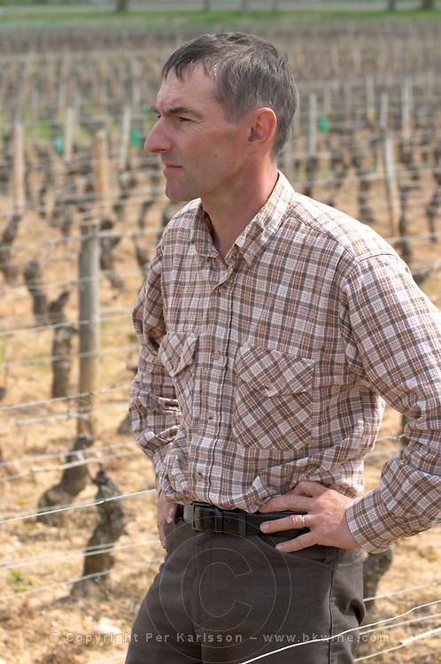 Philippe Bernard, owner winemaker clos st louis fixin cote de nuits burgundy france
