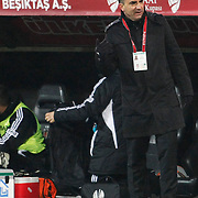 Besiktas's coach Carlos Carvalhal during their Turkey Cup matchday 3 soccer match Besiktas between Gaziantepspor BSB at the Inonu stadium in Istanbul Turkey on Wednesday 11 January 2012. Photo by TURKPIX