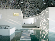 The Louvre Abu Dhabi is an art and civilization museum designed by famous architect Jean Nouvel.