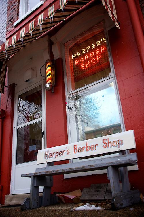 Harper's Barber Shop, Corydon Indiana