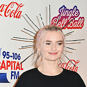 Grace Chatto arrives at Capital's Jingle Bell Ball with Coca-Cola at London's O2 Arena on 9th December 2018, London, UK.