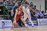 DESCRIZIONE : Eurocup 2015-2016 Last 32 Group N Dinamo Banco di Sardegna Sassari - Cai Zaragoza<br /> GIOCATORE : Joan Sastre<br /> CATEGORIA : Palleggio Controcampo<br /> SQUADRA : Cai Zaragoza<br /> EVENTO : Eurocup 2015-2016<br /> GARA : Dinamo Banco di Sardegna Sassari - Cai Zaragoza<br /> DATA : 27/01/2016<br /> SPORT : Pallacanestro <br /> AUTORE : Agenzia Ciamillo-Castoria/L.Canu