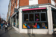 "Following a suspected outbreak of norovirus, several branches of the Wahaca Mexican food chain were closed after over 350 members of the public and staff fell ill of a probable breakout of the winter vomiting bug, including this branch in Great Portland Street in London, United Kingdom. Co-founders Thomasina Miers, and Mark Selby, said: ""We assessed each case and when it became clear they were not isolated incidents, we got in touch with relevant officials at Public Health England and environmental health officers."" In all nine branches were suspected and closed, and four have reopened as of 3rd November 2016."