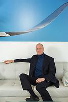 """Thomas """"Tom"""" Enders, PDG d'Airbus / Airbus CEO, photographié à Londres le 16 janvier 2018."""