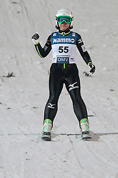 24.11.2012, Lysgards Schanze, Lillehammer, NOR, FIS Weltcup, Ski Sprung, Damen, im Bild Takanashi Sarah (USA) during the womens competition of FIS Ski Jumping Worldcup at the Lysgardsbakkene Ski Jumping Arena, Lillehammer, Norway on 2012/11/23. EXPA Pictures © 2012, PhotoCredit: EXPA/ Federico Modica