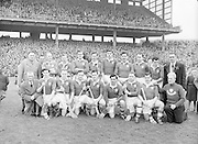 Neg No: 1000/a36109-a3625...17031956IPHCF.17.03.1956...Interprovincial Railway Cup Hurling Championship - Final...Leinster.05-11..Munster.01-07...Munster Team.P. Tyers (Cork), J. O'Shea (Kerry), D. O'Sullivan, P. Driscoll (Cork), T. Moriarty (Kerry), D. Bernard, D. Murray (Cork), J. Dowling (Kerry), E. Ryan (Cork), P. Sheehy (Kerry), C. Duggan (Cork), T. Lyne, J. Culloty, M. Murphy (Kerry), T. Cunningham (Waterford).Sub: Seá.....