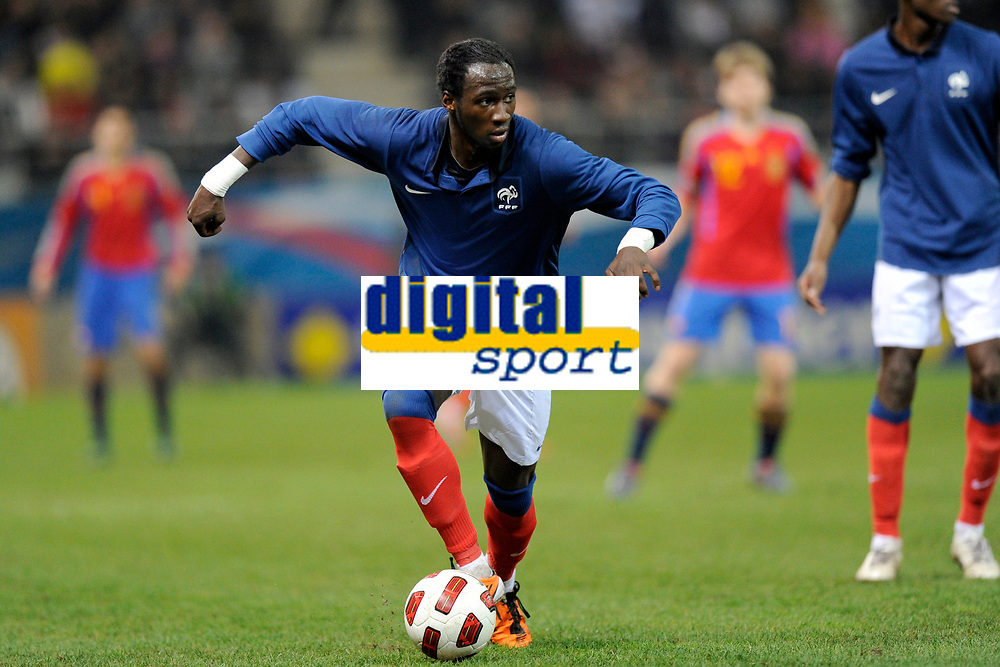 FOOTBALL - UNDER 21 - FRIENDLY GAME - FRANCE v SPAIN - 24/03/2011 - PHOTO GUILLAUME RAMON / DPPI - ELIAQUIM MANGALA (FRA)