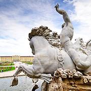 Neptunbrunnen at Schonbrunn Palace