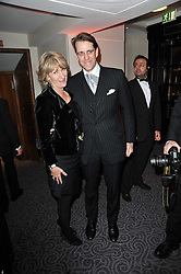 ANNABEL ELLIOT and BEN ELLIOT at Quintessentially's 10th birthday party held at The Savoy Hotel, London on 13th December 2010.