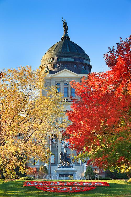 Montana's Capitol Building in Helena.