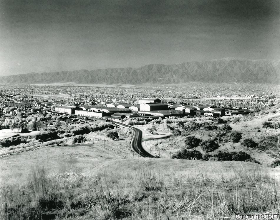 1940 Warner Bros. Studios in Burbank