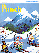 Punch (Front cover, 19 February 1969)