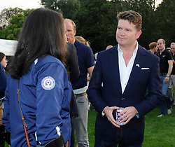 Ambassador of the United States of America to the United Kingdom of Great Britain and Northern Ireland, Matthew W. Barzun talks with members of the US invictus team - Photo mandatory by-line: Joe Meredith/JMP - Mobile: 07966 386802 - 9/09/14 - Winfield reception for the Invictus Games - London - Winfield House