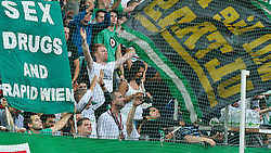 03.08.2010, Gerhard Hanappi Stadion, Wien, AUT, UEFA EL, SK Rapid Wien vs Beroe Stara Zagora, im Bild Rapid Wien Fan Feature, Sex Drugs and Rapid Wien, EXPA Pictures 2010, PhotoCredit: EXPA/S. Trimmel / SPORTIDA PHOTO AGENCY