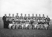 All Ireland Senior Football Championship Final, Cork v Galway, Galway 2-13 Cork 3-7,.07.10.1956, 10.07.1956, 7th October 1956, 7101956AISFCF,..Cork Team (Runners up).P Tyres, P Driscoll, D O'Sullivan (capt), D Murray, P Harrington, D Bernard, M Gould, S Moore, E Ryan, D Kelleher, C Duggan, P Murphy, T Furlong, N Fitzgerald, J Creedon, Sub, E Goulding for Murphy,