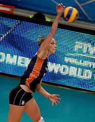 01-10-2014 ITA: World Championship Volleyball Servie - Nederland, Verona<br /> Nederland verliest met 3-0 van Servie en is kansloos voor plaatsing final 6 / Judith Pietersen