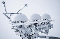 THEMENBILD - Strahlungsmessgerät am Sonnblick Observatorium, aufgenommen am 20. November 2018, Rauris, Österreich // radiometer at the Observatory Sonnblick on 2018/11/20, Rauris, Austria. EXPA Pictures © 2018, PhotoCredit: EXPA/ JFK