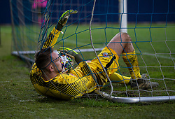 GRÖDIG, AUSTRIA - Tuesday, December 10, 2019: FC Salzburg's goalkeeper Daniel Antosch during the final UEFA Youth League Group E match between FC Salzburg and Liverpool FC at the Untersberg-Arena. (Pic by David Rawcliffe/Propaganda)