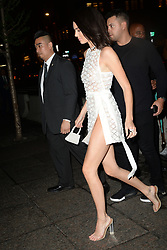 May 3, 2018 - New York, New York, U.S. - KENDALL JENNER attending Tiffany & Co. 'Paper Flowers' jewelry collection launch in New York City. (Credit Image: © Kristin Callahan/Ace Pictures via ZUMA Press)