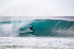 December 16, 2018 - Pupukea, Hawaii, U.S. - Joan Duru of France advances to round 4 after placing first in round 3 heat 11 of the Billabong Pipe Masters. (Credit Image: © Tony Heff/WSL via ZUMA Wire)