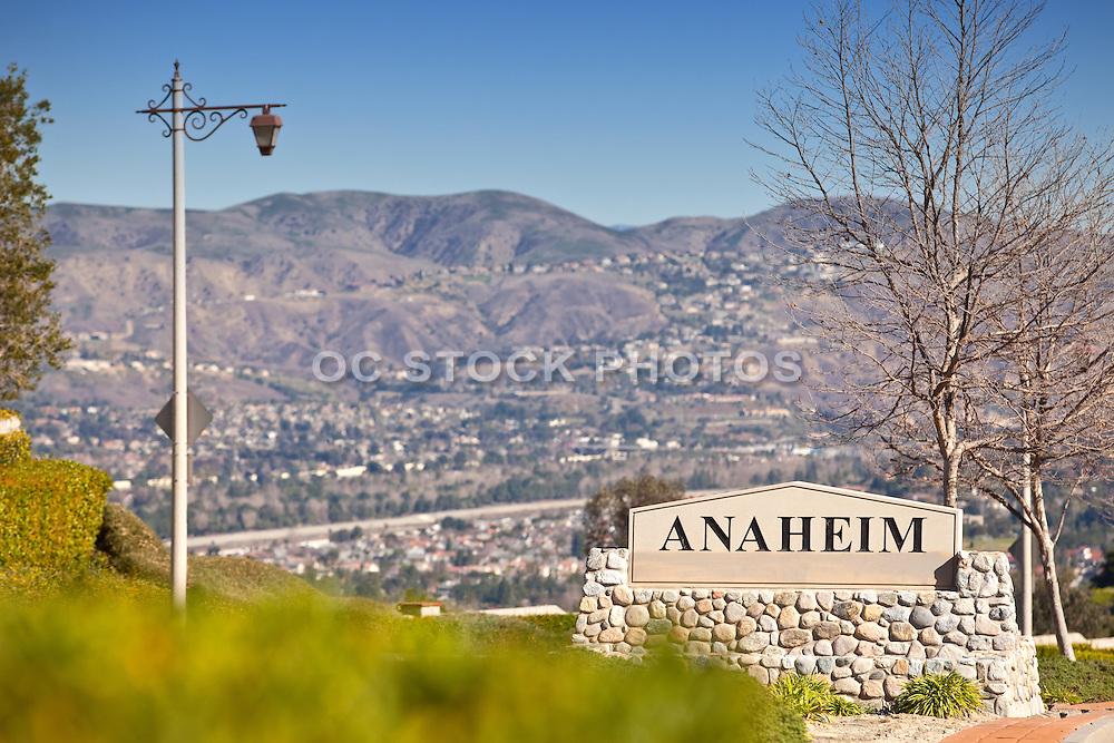 Anaheim Hills City Monument