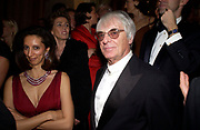 Mrs. Aidan Barclay and Bernie Ecclestone. Crillon 2004 Debutante Ball. Crillon Hotel. Paris. 26 November 2004. ONE TIME USE ONLY - DO NOT ARCHIVE  © Copyright Photograph by Dafydd Jones 66 Stockwell Park Rd. London SW9 0DA Tel 020 7733 0108 www.dafjones.com