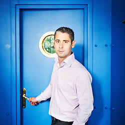 PARIS, FRANCE. MAY 15, 2012. Lionel Chanseau, Chief financial officer at Rhinos at his office in the Bastille area. Photo: Antoine Doyen
