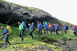 09-07-2014 ISL: Iceland Diabetes Challenge Dag 5, Emstrur<br /> Van Alftavatn naar Emstrur / Groep