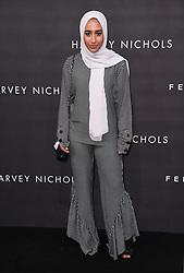 Mariah Idrissi arriving at the Fenty Beauty By Rihanna Party, Harvey Nichols, Knightsbridge, London. Photo credit should read: Doug Peters/EMPICS Entertainment