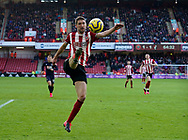 Chris Basham of Sheffield Utd during the Premier League match at Bramall Lane, Sheffield. Picture date: 9th February 2020. Picture credit should read: Simon Bellis/Sportimage