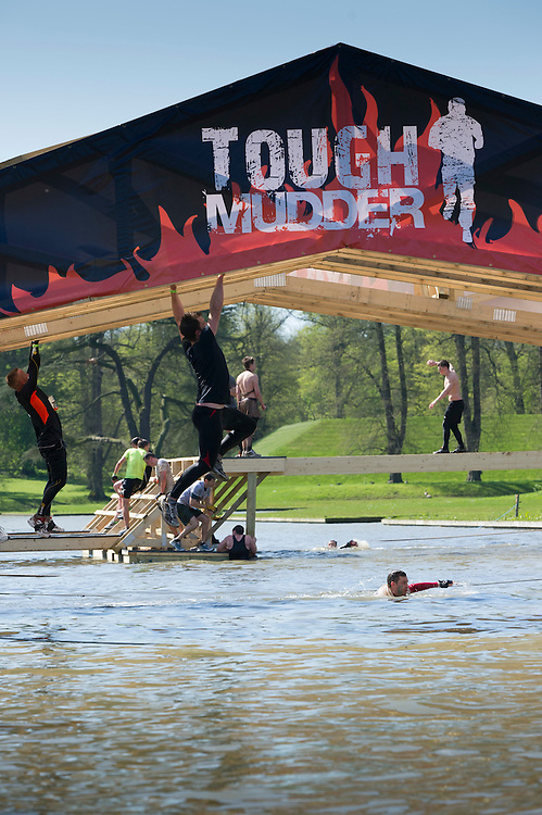 Tough Mudder - May 2012 - Northamptonshire - Monkey Bars