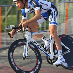 Olympia's Tour 2013 proloog Katwijk Ole Quast KED-Stevens-Team Berlin