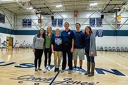 7 October 2021:  Naming presentation of the Ridgeview Jr. High (south gym) gym to Jones' Court