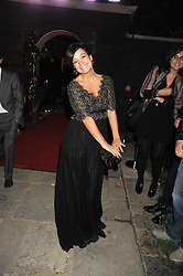 LILY ALLEN at a party to celebrate the opening of the new home of Alfred Dunhill at Bourdon House, 2 Davies Street, London on 16th September 2008.