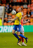 Football - 2021 / 2022 EFL Carabao Cup - Round Two - Blackpool vs. Sunderland -Bloomfield Road - Tuesday 24th August 2021<br /> <br /> Carl Winchester of Sunderland, at Bloomfield Road.<br /> <br /> COLORSPORT/Alan Martin