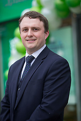 Director Ian Hobson, at the official opening of the new Specsavers store at 70 St John Road, Corstorphine, Edinburgh.