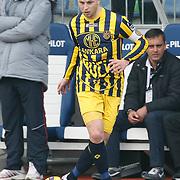 Ankaragucu's Marek SAPARA during their Turkish superleague soccer match Kasimpasa between Ankaragucu at the Recep Tayyip Erdogan stadium in Istanbul Turkey on Saturday 19 February 2011. Photo by TURKPIX