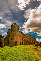 Emperor Fasilides Castle, known as the Royal Enclosure (or Fasil Ghebbi) is the remains of a fortress-city in Gondar, Ethiopia.