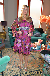 LADY KITTY SPENCER at the launch of Matthew Williamson's 'Sea to Shore' range for The Outnet.com held at the Matthew Williamson's showroom, Studio 10-11, 135 Salusbury Road, London NW6 on 5th May 2016