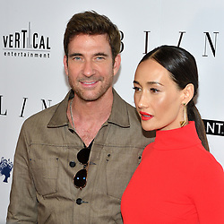 L-R: Actors Dylan McDermott and Maggie Q attend the NY premiere of Blind at the Landmark Sunshine Cinemas in New York, NY on June 26, 2017.  (Photo by Stephen Smith) *** Please Use Credit from Credit Field ***