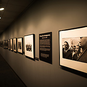A photo exhibit on Selma and the Civil Rights movement on display at the LBJ Library. The LBJ Library and Museum (LBJ Presidnetial Library) is one of the 13 presidential libraries administered by the National Archives and Records Administration. It houses historical documents from Lyndon Johnson's presidency and political life as well as a museum.