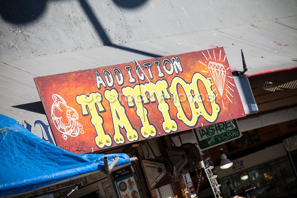 Tattoo Addiction Shop in Downtown Venice Beach California