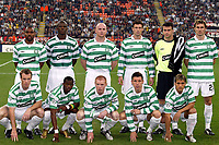 Fotball<br /> UEFA Champions League 2004/2005<br /> 29.09.2004<br /> Foto: Dppi/Digitalsport<br /> NORWAY ONLY<br /> <br /> AC MILAN v GLASGOW CELTIC <br /> <br /> TEAM CELTIC (BACK ROW LEFT TO RIGHT : DIDIER AGATHE / DIANBOBO BALDE / JOHN HARTSON / CHRIS SUTTON / DAVID MARSHALL / STANISLAV VARGA . FRONT ROW : JOOS VALGAEREN / HENRI CAMARA / NEIL LENNON / ALAN THOMPSON / STILIAN PETROV)