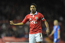 Bristol City's Korey Smith - Photo mandatory by-line: Dougie Allward/JMP - Mobile: 07966 386802 - 13/01/2015 - SPORT - Football - Bristol - Ashton Gate Stadium - Bristol City v Doncaster Rovers - FA Cup - Third Round replay