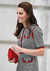 The Duchess of Cambridge visits the Victoria and Albert Museum to officially open the Museum's new entrance, courtyard and exhibition gallery, in London, UK, on the 29th June 2017. 29 Jun 2017 Pictured: Catherine, Duchess of Cambridge, Kate Middleton. Photo credit: James Whatling / MEGA TheMegaAgency.com +1 888 505 6342