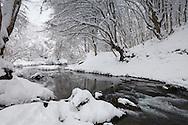 Dukuzak Falls in Winter